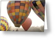 Balloon Day Is A Happy Day Greeting Card