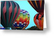 Balloon Glow I Greeting Card