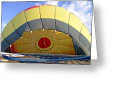 Balloon Inflation Greeting Card by Jim DeLillo