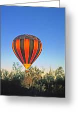 Balloon Launch Greeting Card