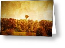 Balloon Nostalgia Greeting Card by Michael Garyet