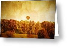 Balloon Nostalgia Greeting Card by Michael Garyet