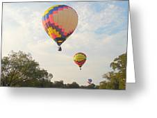 Balloon Race Greeting Card