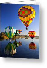 Balloon Reflections Greeting Card