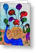 Balloon Sales Greeting Card