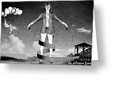 Balloons And Surrealism 3 Greeting Card