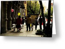 Balloons In Mexico City Greeting Card