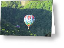 Balloons Over Letchworth Greeting Card