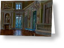 Ballroom Of The Lazienki Palace Greeting Card