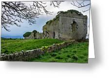 Ballyboggan Abbey, Co. Meath Greeting Card