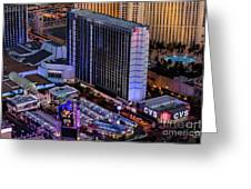 Bally's Hotel, Las Vegas Greeting Card