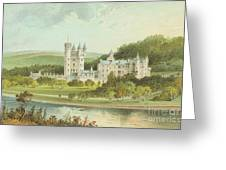 Balmoral Castle, Scotland Greeting Card