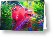 Balmoral Grist Mill Museum Greeting Card
