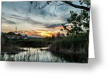 Balmorhea Sunset Greeting Card