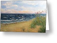 Baltic Coast Greeting Card
