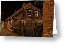 Baltic Houses Greeting Card
