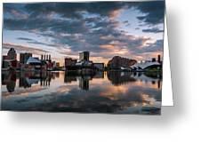 Baltimore Dawn Greeting Card