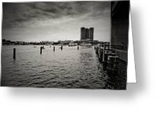 Baltimore Harbor Greeting Card