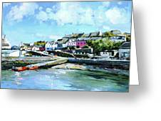 Baltimore Harbour County Cork Greeting Card