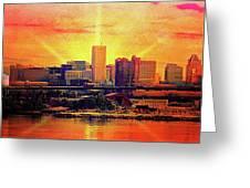 Baltimore Horizon Greeting Card