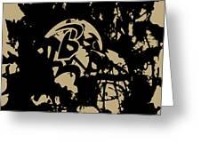 Baltimore Ravens 1a Greeting Card