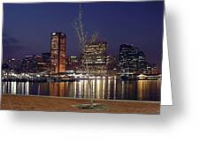 Baltimore Reflections Greeting Card