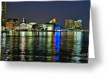 Baltimore Skyline Greeting Card