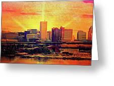 Baltimore Sunrise Greeting Card