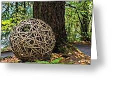 Bamboo Ball Greeting Card