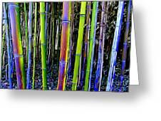 Bamboo Dreams #13 Greeting Card