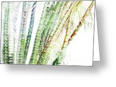 Bamboo Forest Watercolor Greeting Card