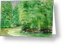 Bamboo Forests 1 Greeting Card