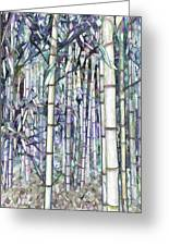 Bamboo Grove Greeting Card