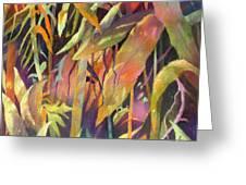 Bamboo Patterns Greeting Card