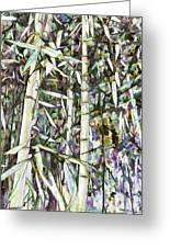 Bamboo Sprouts Forest Greeting Card
