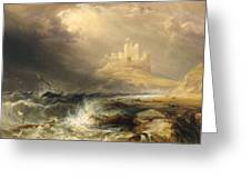 Bamborough Castle Greeting Card