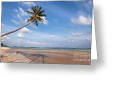 Ban Harn Beach Greeting Card