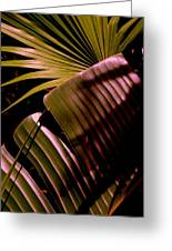 Banana Leaf Greeting Card