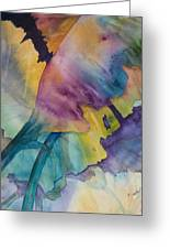 Banana Leaves Of Color Greeting Card
