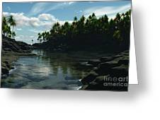 Banana River Greeting Card