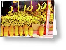Bananas, Belize  Greeting Card