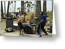 Band Playing 2 Greeting Card