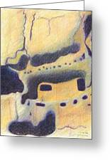 Bandelier I Greeting Card by Harriet Emerson