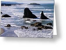 Bandon Beach 2 Greeting Card