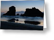 Bandon Oregon Sea Stacks Greeting Card