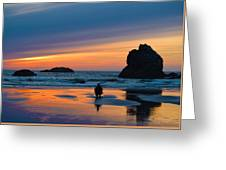 Bandon Sunset Photographer Greeting Card