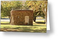 Bandstand Drinking Fountain Greeting Card