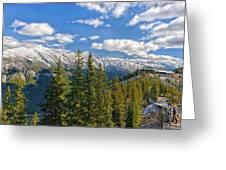 Banff Gondola Greeting Card