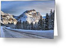 Banff Icefields Parkway Greeting Card