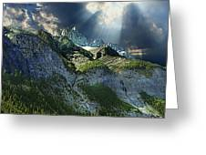 Mount Cory, Banff Greeting Card